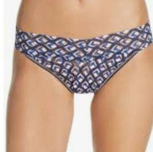 hanky panky original high rise lace thong panty
